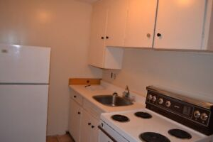 OCT 1 - Spacious one brrm - heat, hot water incl. laundy