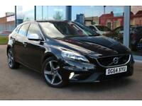 2014 VOLVO V40 D2 R DESIGN GBP0 TAX, NAV, LEATHER, DAB and 17andquot; ALLOYS