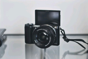 SONY A5000 CAMERA FOR $450 ONLY !! (BODY + LENS)