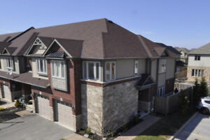 Beautiful Binbrook - Private End Unit Freehold Townhome!
