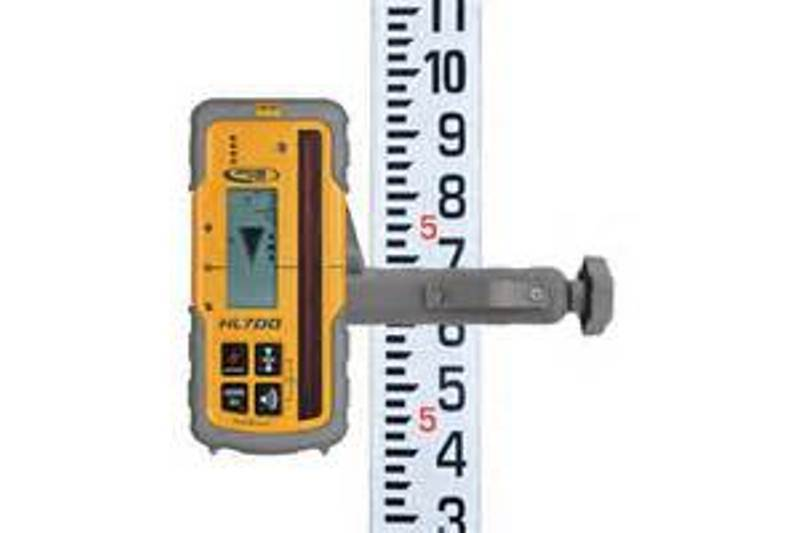 SPECTRA HL700 LASEROMETER W/ROD CLAMP  HL 700 LEICA TOPCON AGL CST