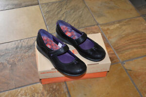 NEW Merrell Ortholite Q Form Allure Black Mary Jane Shoes
