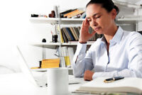 Job and Work place or home sickness?