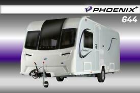 Bailey Phoenix Plus 644, NEW 2021 Touring Caravan