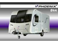 Bailey Phoenix Plus 644, NEW 2021 Touring Caravan