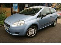 Fiat Punto 1.2 Active 3 Door Blue FSH Long MOT Low Mileage Finance Available