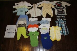 Used clothing - Size NB to 2T