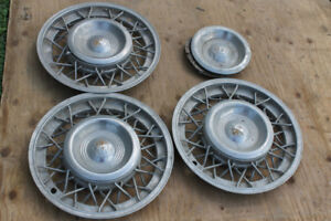 1953 Oldsmobile Factory Wire Wheel Hubcaps