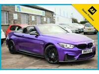 2015 BMW M4 3.0 M DCT (s/s) 2dr (Competition Styling) Convertible Petrol Semi Au
