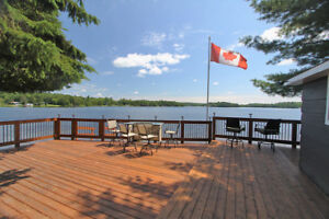 BEAUTIFUL WATERFRONT COTTAGE ON FRENCH RIVER
