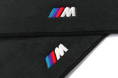"""BMW OEM Black """"M"""" Carpet Floor Mats 1996-2003 Z3 1.9, 2.5i, 3.0i 82111470372"""