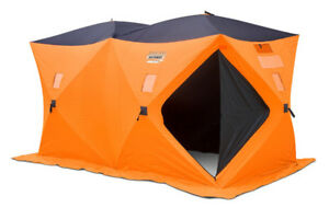 Brand new Equinox 6-person Fish Inn Ice Fishing Shelter