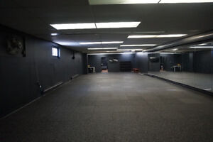 Studio space for rent - yoga, fitness, office