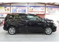 2013 13 VOLKSWAGEN TOURAN 2.0 SE TDI BLUEMOTION TECHNOLOGY 5D 138 BHP DIESEL
