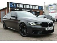 2021 21 BMW M5 4.4 M5 COMPETITION 4D 617 BHP, MATTE PPF, LOOKS STUNNING