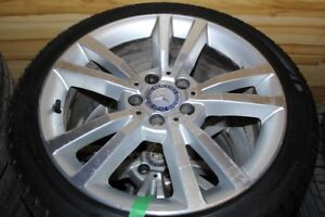 (HIVER) KUMHO WINTER CRAFTICE 245/40/18 + MAGS MERCEDES E-CLASS