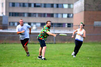 Co-ed Adult Grass & Turf Ultimate Frisbee in the City!