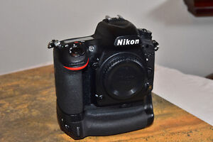 Nikon D750 with Nikon battery grip