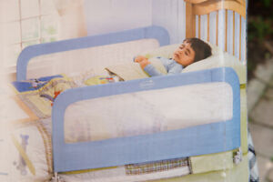 Double bed rail