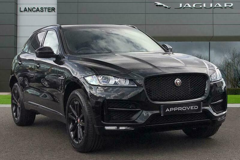 2019 Jaguar F-pace Petrol black Automatic   in Slough ...
