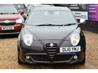 2010 Alfa Romeo MiTo 1.3 VELOCE JTDM 3d 95 BHP + FREE DELIVERY + FREE 3 YEAR WAR
