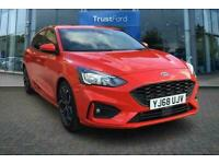 2018 Ford Focus ST-LINE X 1.0 125 WITH FRONT AND REAR SENSORS AND HEATED SEATS!
