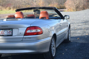 Volvo C70 Convertible. Well maintained never winter driven