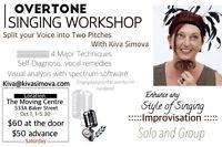 Overtone Singing Workshop, Oct 1 in Nelson