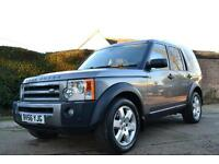 2006 LAND ROVER DISCOVERY 3 2.7 TDV6 HSE 7 SEATER ESTATE DIESEL