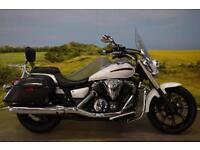 Yamaha XVS950 2014**LOW SEAT HEIGHT, 4104 MILES, HARD LUGGAGE, TOURING SCREEN**