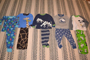 Boys size 2 pajamas Carters