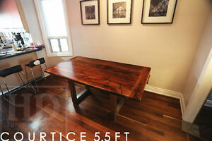 Barnwood Tables - Locally Made from Reclaimed Hemlock & Pine London Ontario image 4