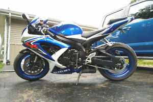 2008 GSXR 750 - well maintained, great condition