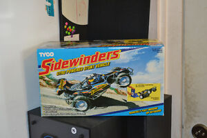 NRFB 1990 TYCO SIDEWINDERS GYRO CAR (No Batteries needed)