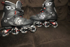 For sale ,Men's roller blades ,New-asking 50$ paid over 100$.PM