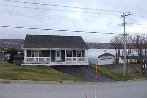 6 Year Old 3 Bed Open Plan with Ocean Views in Carbonear