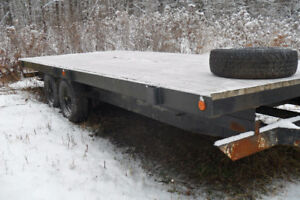 2014 Custom Built 8 x 19 Trailer