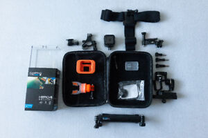 GoPro Hero 4 Session with TONS of extras + GIMBAL