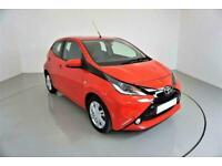 2016 RED TOYOTA AYGO 1.0 VVT-I X-PRESSION 5DR HATCH CAR FINANCE FR £129 PCM