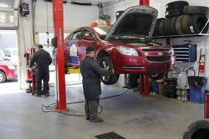 Changement d'huile, pneus, freins ect