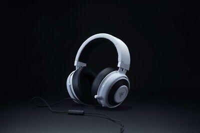 Razer Kraken Pro V2 Stereo Gaming Headset for PC/Mac/PS4/Xbox One* White Oval Gaming Headset Pc