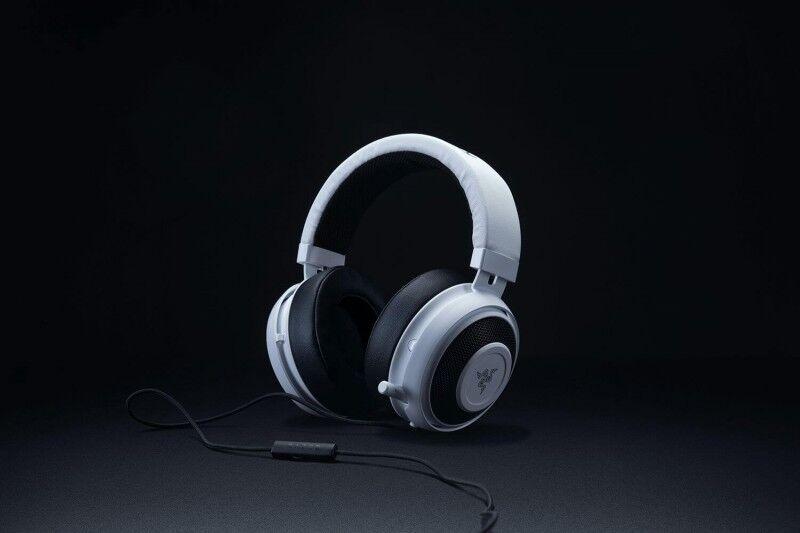 Razer Kraken Pro V2 Stereo Gaming Headset for PC/Mac/PS4/Xbox One* White Oval