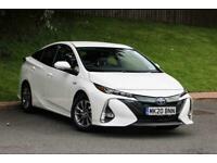 2020 Toyota Prius 1.8 PHEV Excel 5dr CVT PETROL/ELECTRIC white CVT