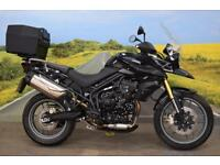 Triumph Tiger 800 **Triumph Heated Grips, Triumph Top Box, ABS**