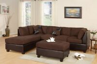 sectional sofa with chaise lounge $100 OBO