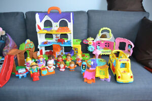 VTech Go Go House, Bus, and People Collection