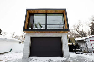 Live in Edmonton's first Honomobo Container House