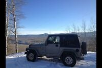 2001 Jeep TJ. Well maintained