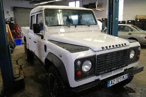 2001 Land Rover Defender 110 130 Crew Cab Pickup Truck
