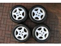 Peugeot 14 inch alloy wheels